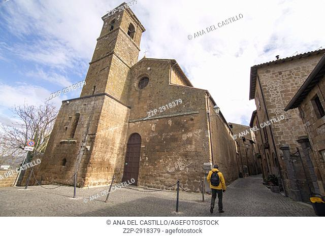 Church of San Giovenale. First cathedral of Orvieto, Umbria Italy