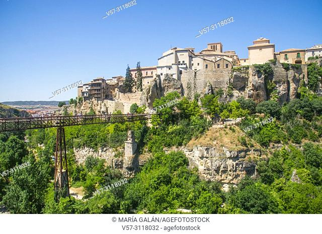 Overview from Hoz del Huecar. Cuenca, Spain