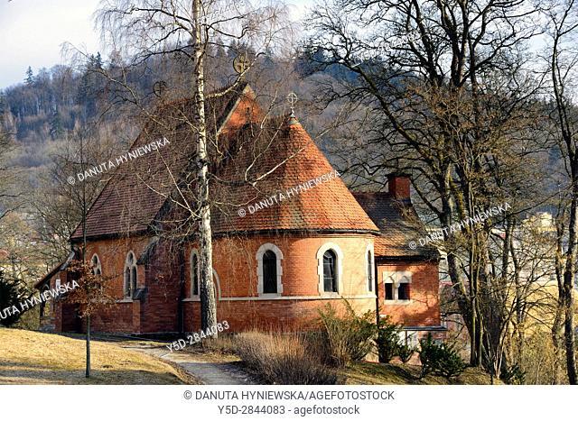 Anglican Church, Mariánské Lázne, Karlovy Vary Region, Bohemia, Czech Republic