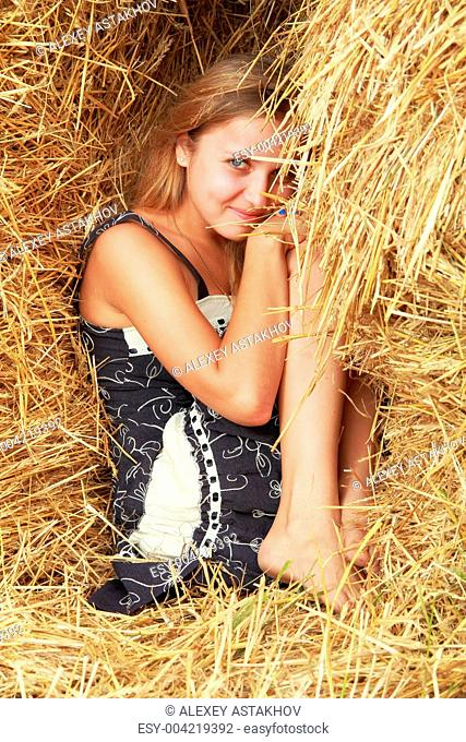 Hiding in straw