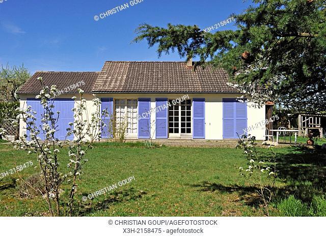 house, Eure-et-Loir department, Centre region, France, Europe