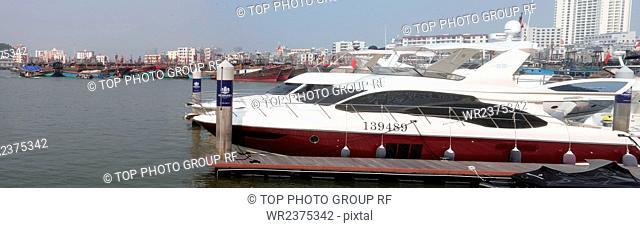 China Hainan Sanya sailing yachts 2012