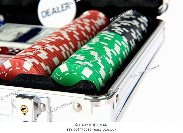 poker suitcase