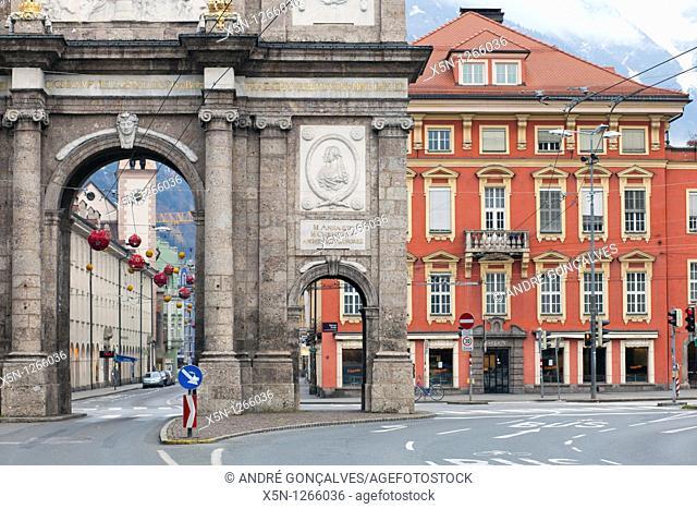 Triumph Arch, Innsbruck, Austria