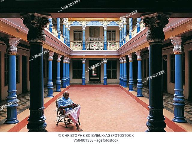Chettinad palace Stock Photos and Images   age fotostock