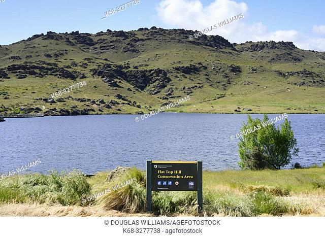 Flat Top Hill Conservation area, Otago, South Island, New Zealand