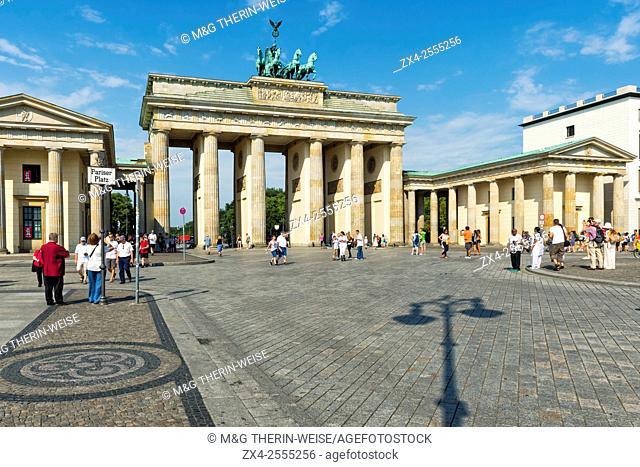 Brandenburger Tor, Berlin, Brandenburg, Germany