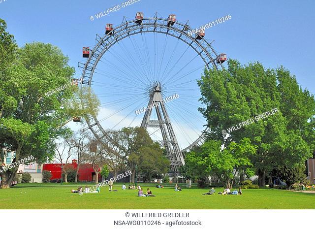 Ferris wheel in the Viennese Prater