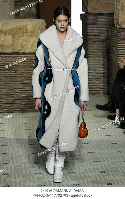 Kaia Gerber at LANVIN runway show during Paris Fashion Week, AW19, Autumn Winter 2019 collection - Paris, France 27/02/2019   usage worldwide