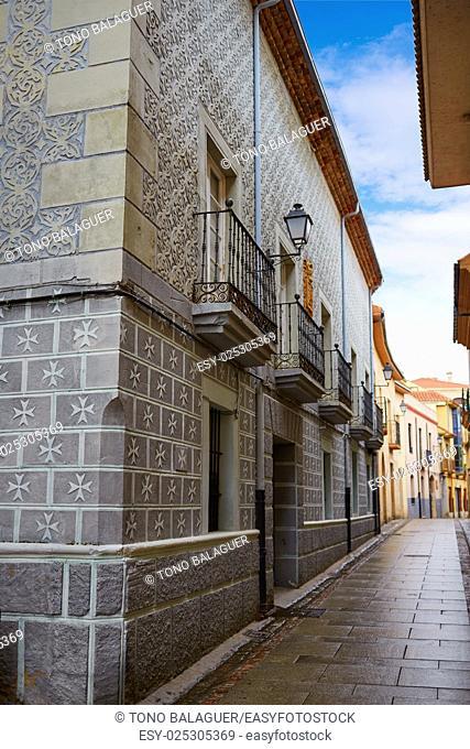 Zamora Rua de los Notarios in Spain