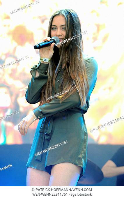 Stars For Free 2015 by Berlin radio station 104.6 RTL at Wuhlheide amphitheater - Show Featuring: Jasmine Thompson Where: Berlin