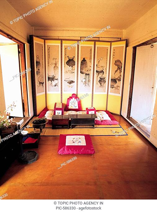 Interior Space Of Traditional Korean House