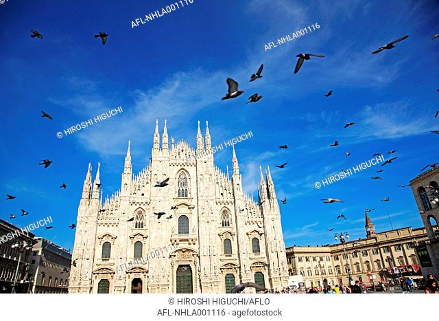 Italy, Lombardy, Milan, The cathedral, Milano Duomo