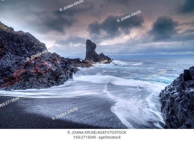 Djupalonssandur Beach, Snaefellsnes, Iceland