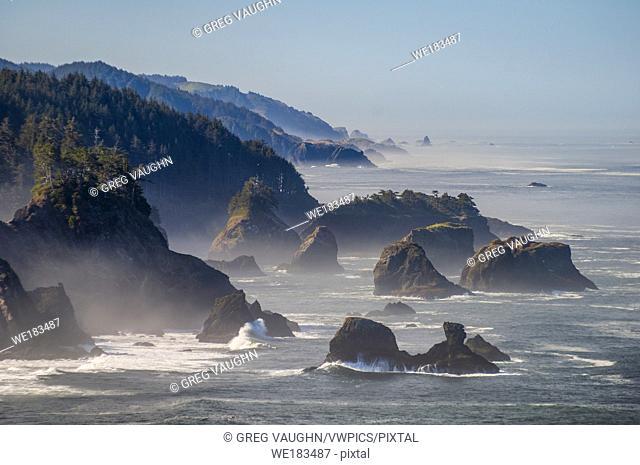 Sea stacks on the southern Oregon coast