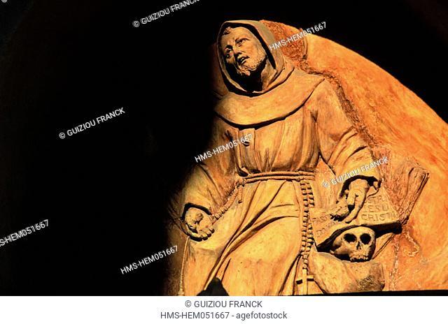 Italy, Tuscany, Fiesole, San Francesco Convent