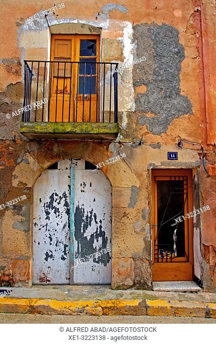 housing, Linyola, Lleida, Catalonia, Spain