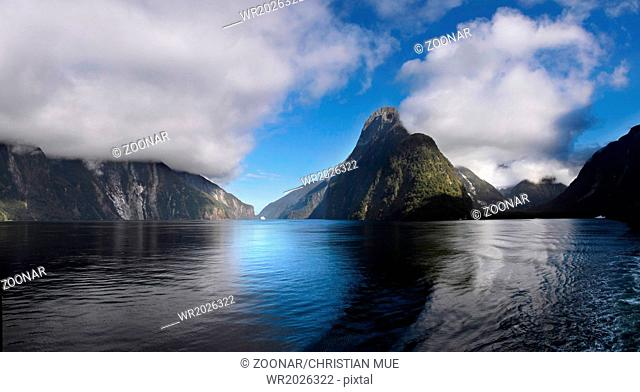 Mitre Peak in the Milford Sound
