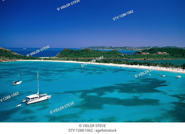 Antigua, Bay, Boat, Caribbean, Deep bay, Holiday, Inlet, Island, Landmark, Scenic, Seascape, Tourism, Travel, Vacation