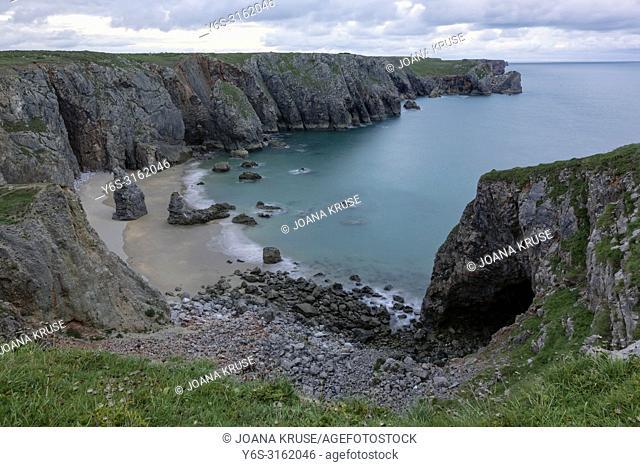 The Cauldron, Tenby, Pembrokeshire, Wales, UK, Europe