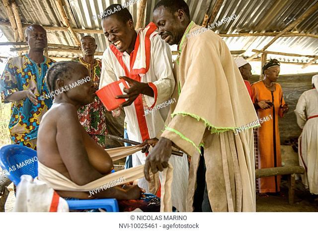 Clandestine church, spiritual healing and mass in the Democratic Republic of Congo, Africa