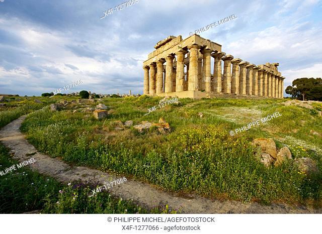 Italy, Sicily, Trapani district, Selinunte, Temple