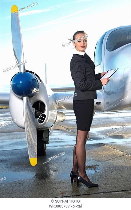 Hostess plane Supraphoto
