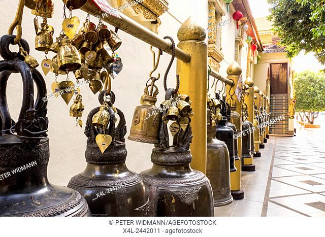 Wat Phra That Doi Suthep, Temple, Chiang Mai, Northern Thailand, Thailand, Asia
