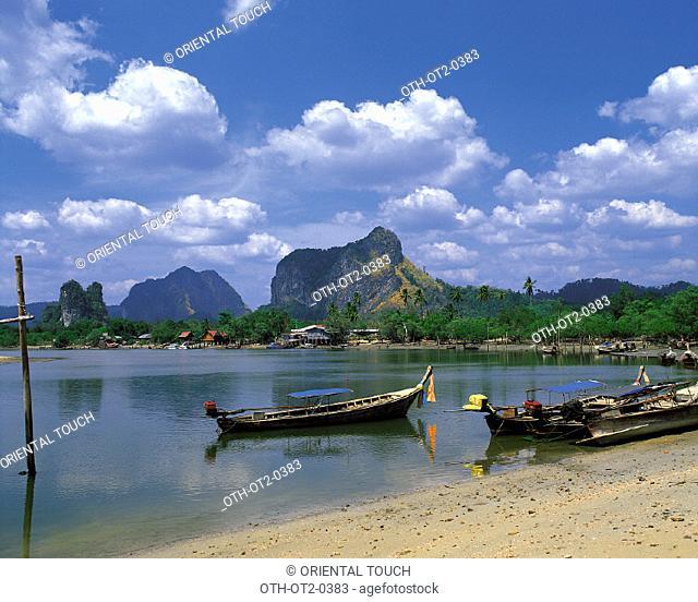 Noppharatthara Beach Krabi, Thailand