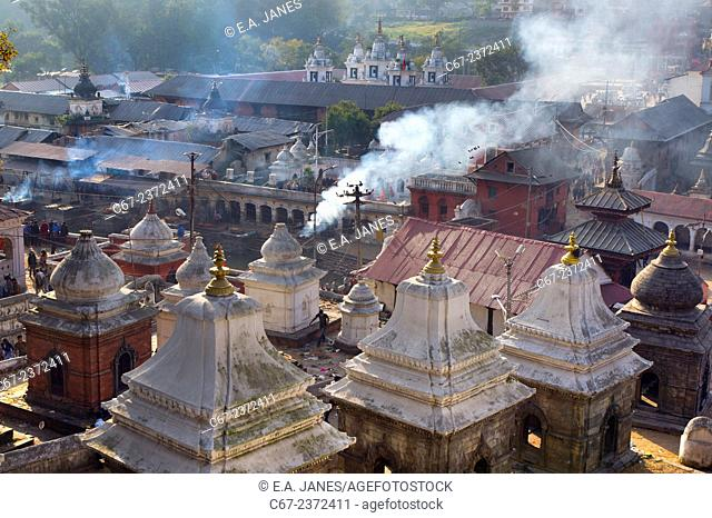 Pashupatinath is a deeply religious pilgrimage site for Hindus from all over Nepal