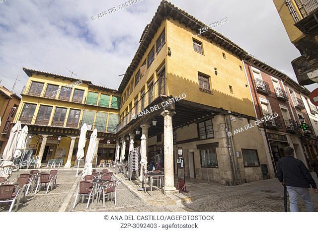 Tordesillas town in Valladolid province Spain