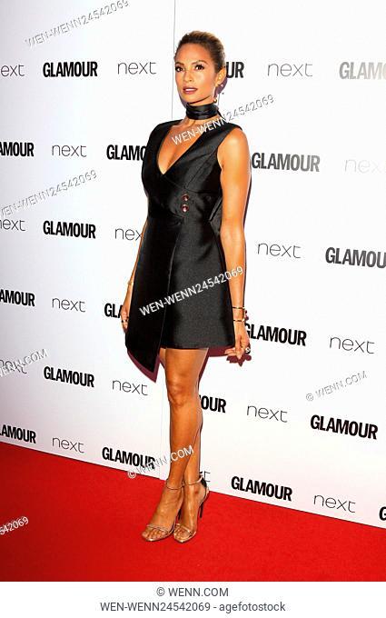 Glamour Women Of The Year Awards at Berkeley Square Gardens, London Featuring: Alesha Dixon Where: London, United Kingdom When: 07 Jun 2016 Credit: WENN