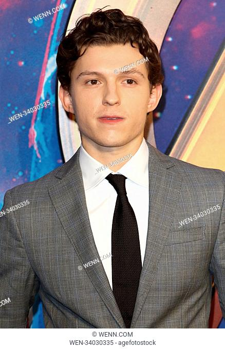 Tom holland Stock Photos and Images   age fotostock