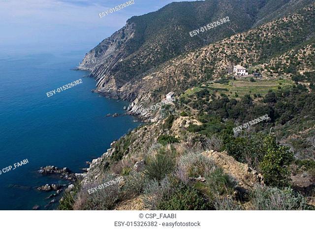Coastline between Moneglia and Riva Trigoso