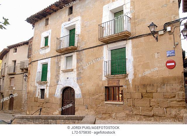 Uncastillo. Cinco Villas, Zaragoza province, Aragón, Spain