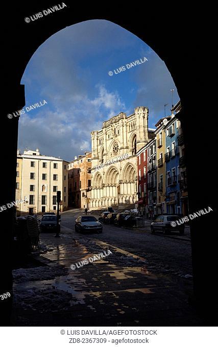 catedral. Cuenca, Spain