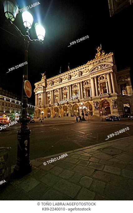 Academie Nationale de Musique. Paris. France
