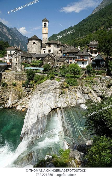 Lavertezzo, Tessin, Schweiz