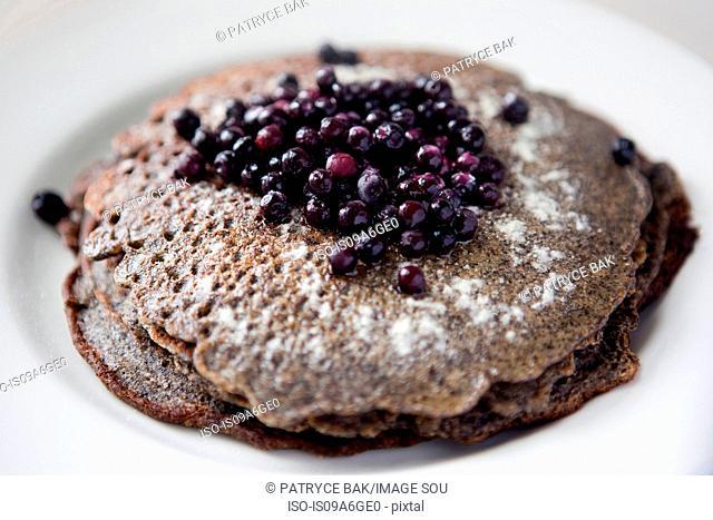 Gluten free lactose free pancakes