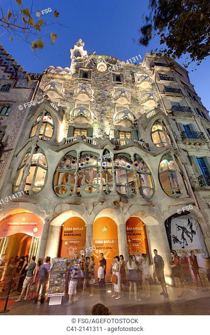 Casa Batlló. Barcelona, Spain