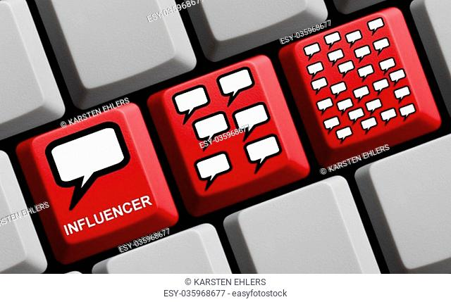 how influencer marketing works online