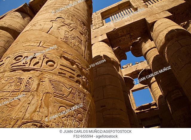 Karnak Temple. Luxor. Nile Valley. Egipt