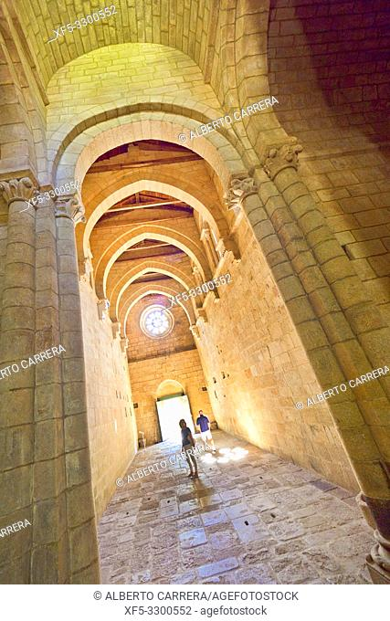 Monastery of Santa Cristina de Ribas de Sil, 12-13th Century Romanesque Style, Spanish Property of Cultural Interest, Spanish National Heritage Site