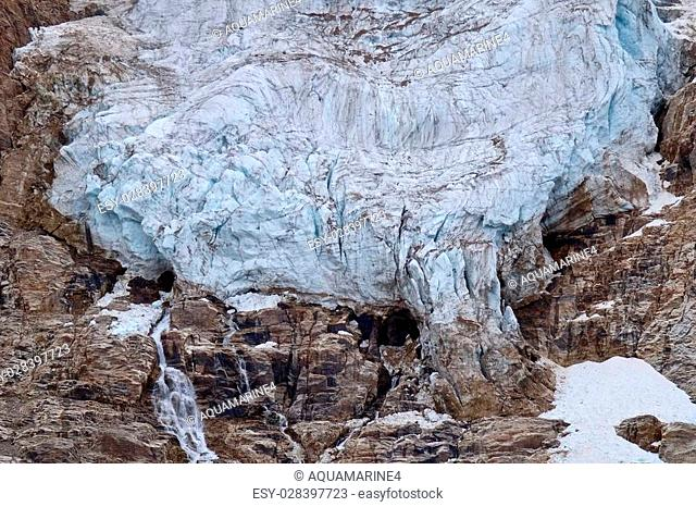 Edith Cavell Mount. Jasper National Park. Alberta. Canada