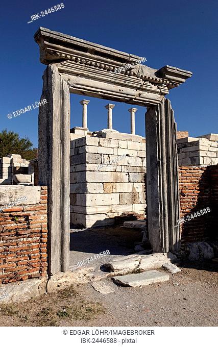 Basilica of St. John in Selcuk, Ephesus, Turkey