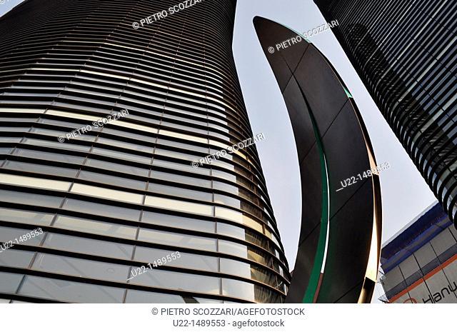 Seoul (South Korea): skyscrapers in the Insadong area