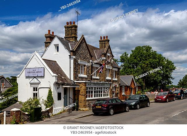 The Trevor Arms Public House, Glynde, Sussex, UK