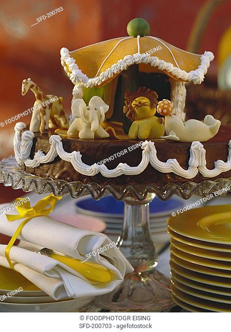 Child's birthday cake 3