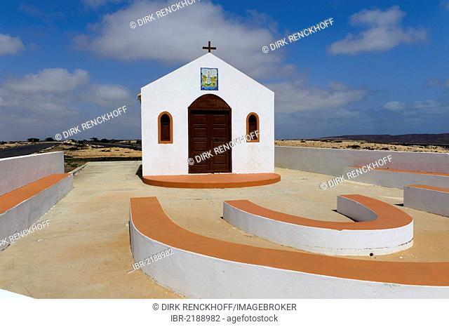 Nossa Senhora de Fatima, church, Sal, Cape Verde, Africa