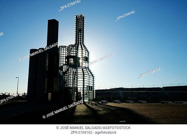 Hejduk towers(by John Hejduk), Cidade da Cultura de Galicia, City of Culture of Galicia, designed by Peter Eisenman, Santiago de Compostela, A Coruña province
